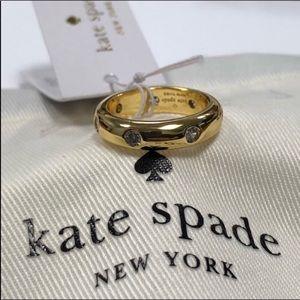 Kate Spade crystal ring